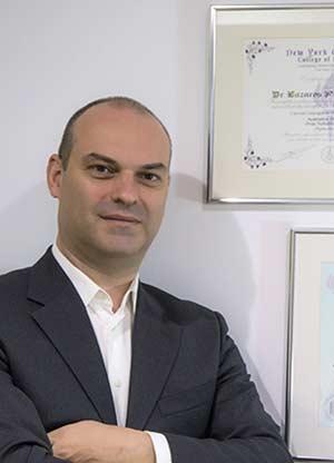 Λάζαρος Παπαϊορδανίδης Χειρουργός Οδοντίατρος, DDS, MSc